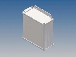 aluminium behuizing - wit - 110 x 105.9 x 45.8 mm - met flens - tk31-e.7