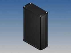 aluminium behuizing - zwart - 175 x 105.9 x 45.8 mm - tk33.9