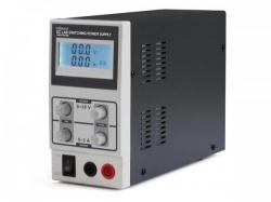 schakelende dc-labovoeding 0-30 vdc / 0-3 a max met lcd-scherm - labps3003sm
