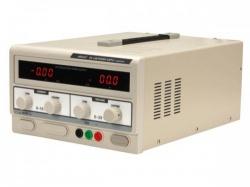 dc-labovoeding 0-30 vdc / 0-10 a max met dubbel led-scherm - labps3010