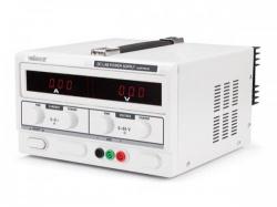 dc-labovoeding 0-50 vdc / 0-5 a max met dubbel led-scherm - labps5005