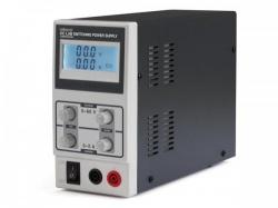 schakelende dc-labo voeding 0-60 vdc / 0-5 a max met led-scherm - labps6005sm