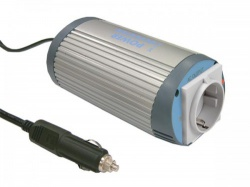 mean well - dc-ac inverter met gemodificeerde sinusgolf - 150 w - duits stopcontact - a301-150-f3