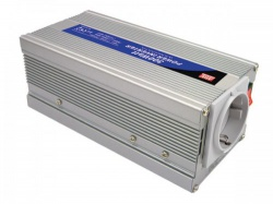 mean well - dc-ac inverter met gemodificeerde sinusgolf - 300 w - duits stopcontact - a301-300-f3