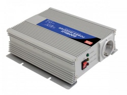 mean well - dc-ac inverter met gemodificeerde sinusgolf - 600 w - duits stopcontact - a301-600-f3