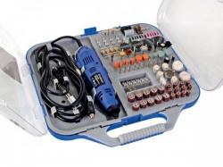 elektrische precisieboor & graveerset- 162 st. - vthd05