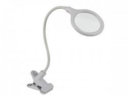 led-loeplamp met bevestigingsklem - 5 dioptrie - 6 w - 30 leds - wit - vtllamp10n