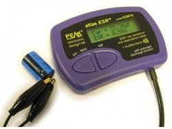 esr / lage weerstand en capaciteitsmeter - esr70