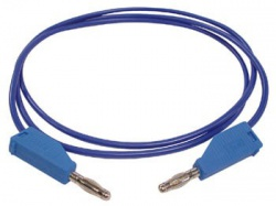 meetsnoeren (spuitgegoten banaanpluggen 4mm) / blauw - 3a/30v - tlm8bl