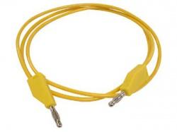 meetsnoeren (spuitgegoten banaanpluggen 4mm) / geel - tlm8y