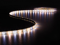 kit met led-strip, controller en voeding - 300 leds - 5 m - 12 vdc - warmwit & koudwit - leds12cww