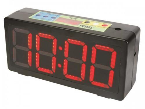 klok met chronometer/afteltimer & intervaltimer - wc200