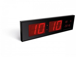 wandklok met led-display - wc208
