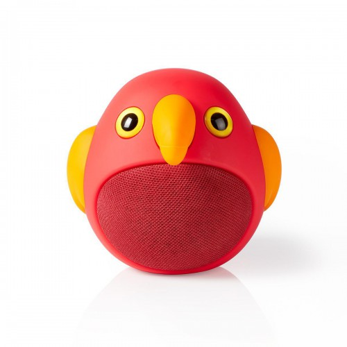 Animaticks Bluetooth Speaker | 3 Uur Speeltijd | Handsfree bellen | Perry Parrot - spbt4100rd