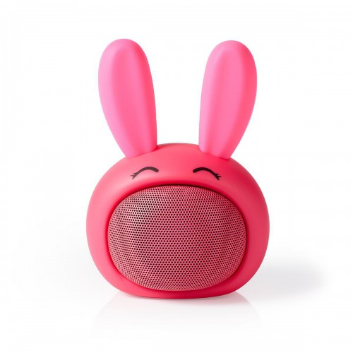 Animaticks Bluetooth Speaker | 3 uur speeltijd | Handsfree bellen | Robby Rabbit - spbt4110pk