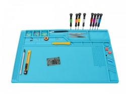 siliconen soldeermat - 550 x 350 mm - as12