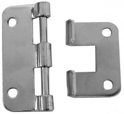 metalen scharnier - 58 x 46 mm - 10 st. per verpakking - hqac1014