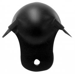 bescherming voor luidsprekerbehuizing, zwart metaal, 50mm x 90° - vdac19