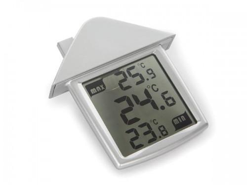 transparante raamthermometer met min- en maxaanduiding - wc216