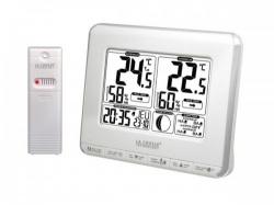 la crosse - weerstation met maanfases, temperatuuralarm en warmte-index - ws6812