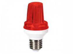 mini ledflitslamp - e27 - 3 w - rood - hqpl11028