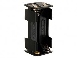 batterijhouder voor 4 x aaa-cel (met soldeerlippen) - BH443D
