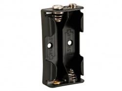 batterijhouder voor 2 x aa-cel (voor batterijclips) - BH321B