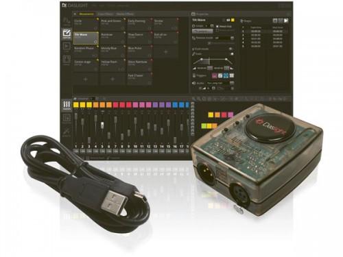 daslight dvc4 gold virtuele dmx-controller met usb-dmx interface - vdpdvc4gold
