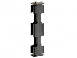 batterijhouder voor 4 x aa-cel (voor batterijclips) - BH342B