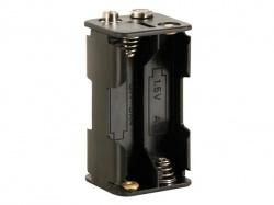 batterijhouder voor 4 x aa-cel (voor batterijclips) - BH343B