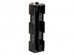 batterijhouder voor 8 x aa-cel (voor batterijclips) - BH382B