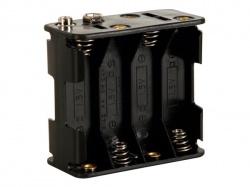 batterijhouder voor 8 x aa-cel (voor batterijclips) - BH383B