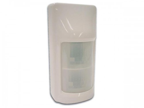 pir sensor met double twin optics - haa54