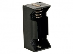 batterijhouder voor 1 x c-cel (met soldeerlippen) - BH211D
