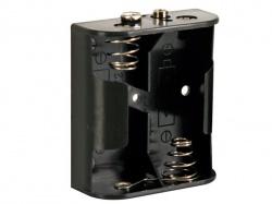 batterijhouder voor 2 x c-cel (voor batterijclips) - BH221B