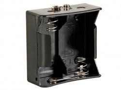 batterijhouder voor 2 x d-cell (voor batterijclips) - BH121B