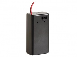 batterijhouder voor 9v-cel - bh9vbs