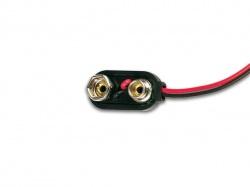 batterijclip voor 1 x 9v-cel (