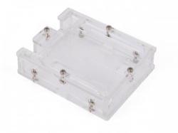 transparante behuizing voor arduino® uno r3 - wpa506