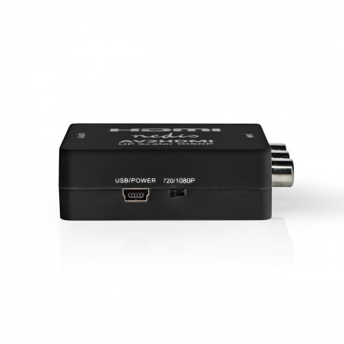 Composietvideo-naar-HDMI™-Converter | 1-Wegs - 3x RCA (RWY) | HDMI™-Uitgang - vcon3456at
