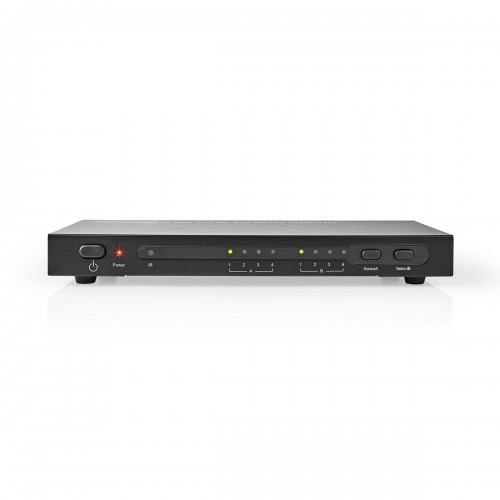 HDMI™ Matrix-Switch | 4-naar-2-Poorts - 4x HDMI™ Ingang | 2x HDMI™-Uitgang - vmat3462at