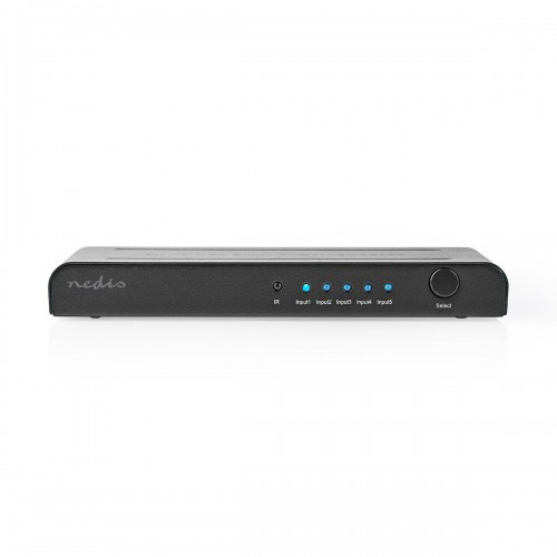 HDMI™ Switch | 5-Poorts - 5x HDMI™-Ingang | 1x HDMI™-Uitgang | 4K2K@60FPS / HDCP2.2 - vswi3475at
