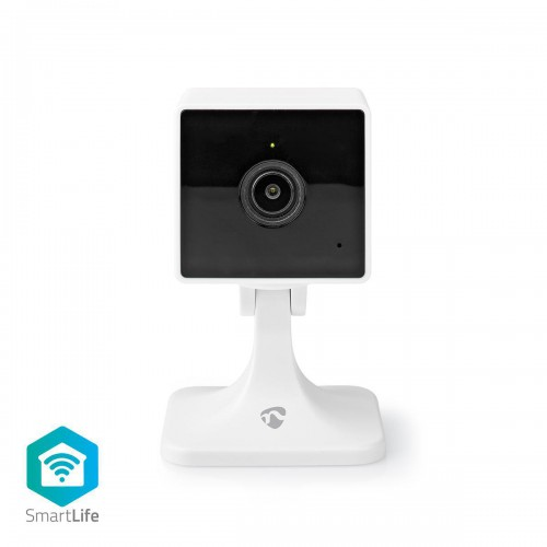 SmartLife Camera voor Binnen | Full HD 1080p | Cloud / MicroSD | Nachtzicht | Android™ & iOS | Wi-Fi | Wit - wifici40cwt