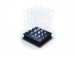 3d led-kubus - 5 x 5 x 5 (witte led) - wsl8018w