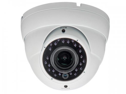 hd cctv-camera - hd-tvi - gebruik buitenshuis - dome - ir - varifocale lens - 1080p - camtvi5