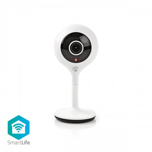 SmartLife Camera voor Binnen | Wi-Fi | HD 720p | Cloud / MicroSD | Nachtzicht | Android™ & iOS | Wit - wifici05cwt