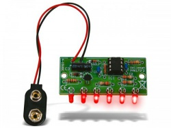 mini chasereffect met 6 leds - wsl173