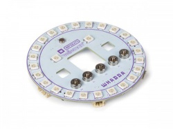 rgb led ring shield for microbit - wpse475