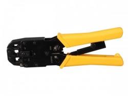 professionele krimptang voor modulaire connectoren rj10 - rj11 - rj12 - rj45 - vtm468pn
