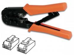 krimptang voor modulaire connectoren 6p4c (rj11), 6p6c (rj12), 8p8c (rj45) - vtm6/8